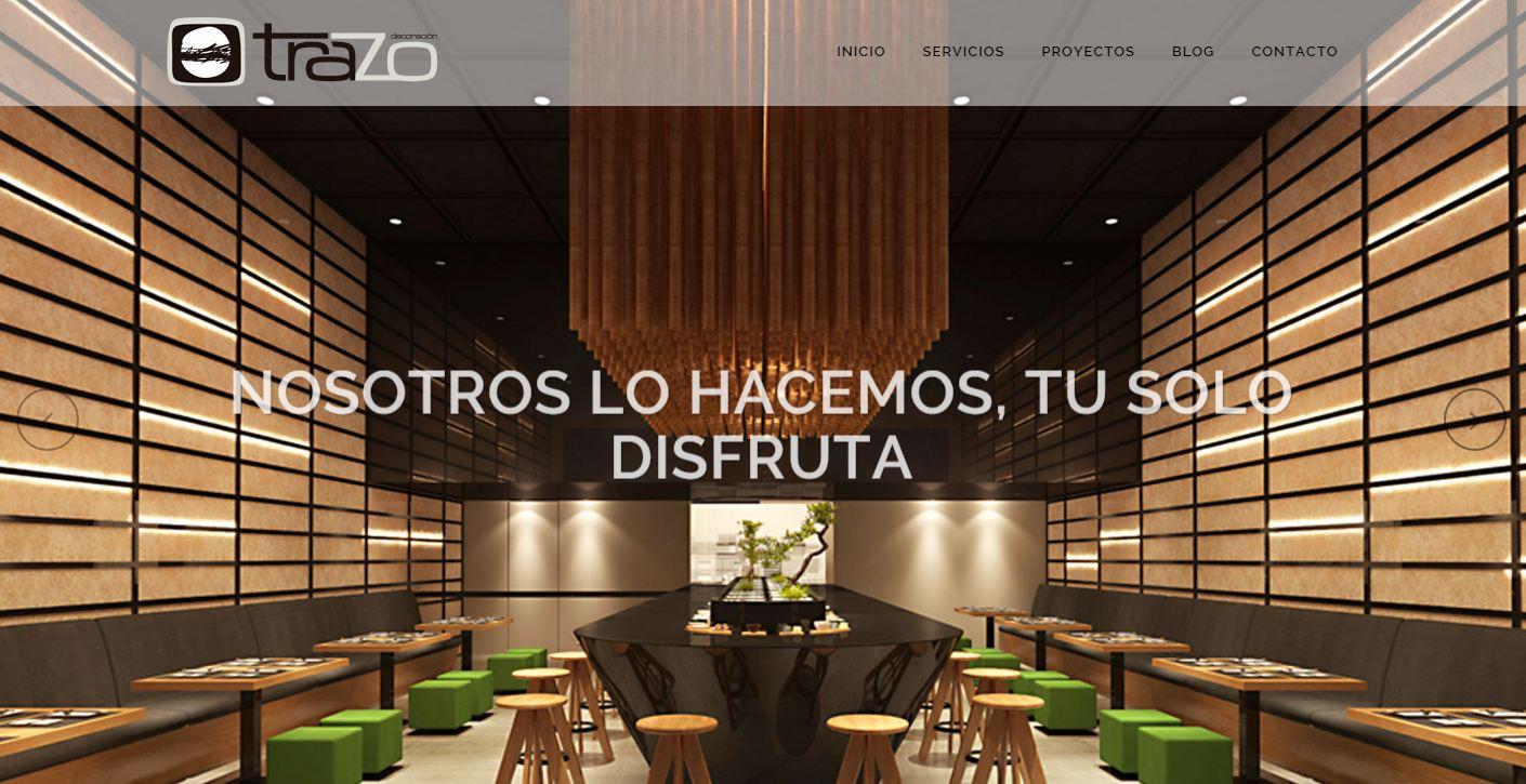 Nueva página web trazodecoracion.com