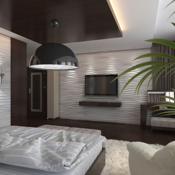 Diseño de Interiores Habitación Principal