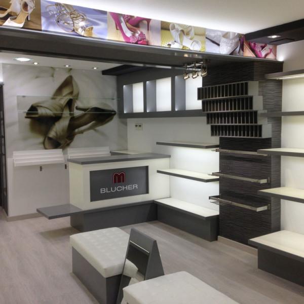 Diseño y Distribución Tienda Zapatos
