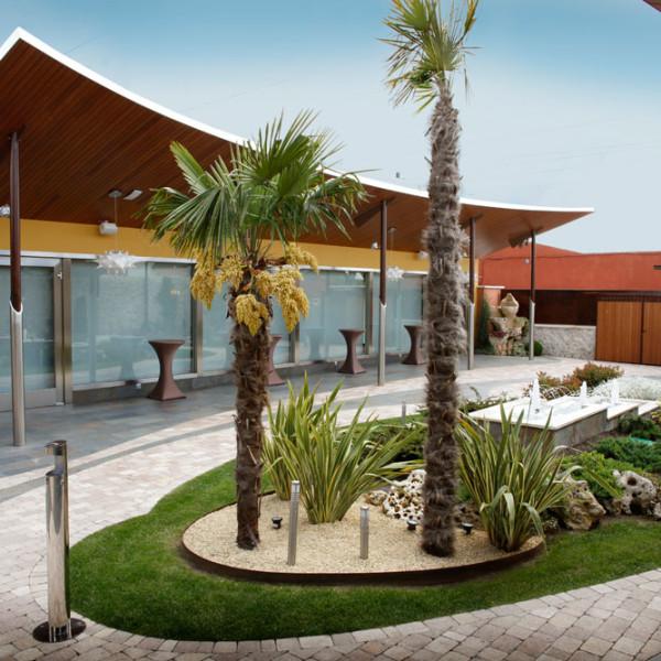 Reforma y Diseño de Exteriores Hotel