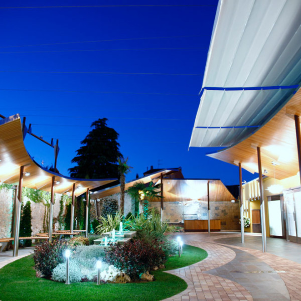 Diseño y Decoración Exterior Hotel