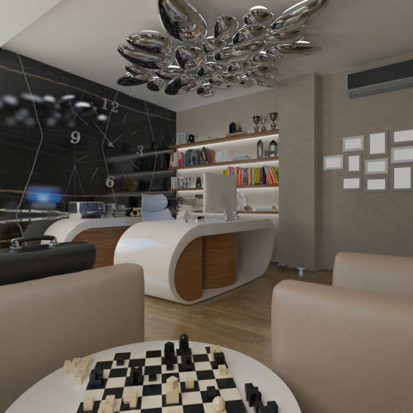 Diseño de Interiores y Mobiliario Oficina
